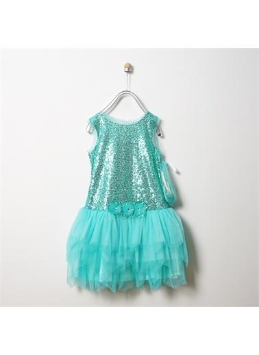 Panço Abiye Elbise 19126005100 Mavi